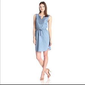 Kensie Chambray Blue Denim Dress Medium M